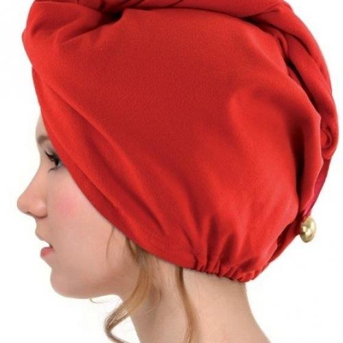 Turbante asciugacapelli microfibra